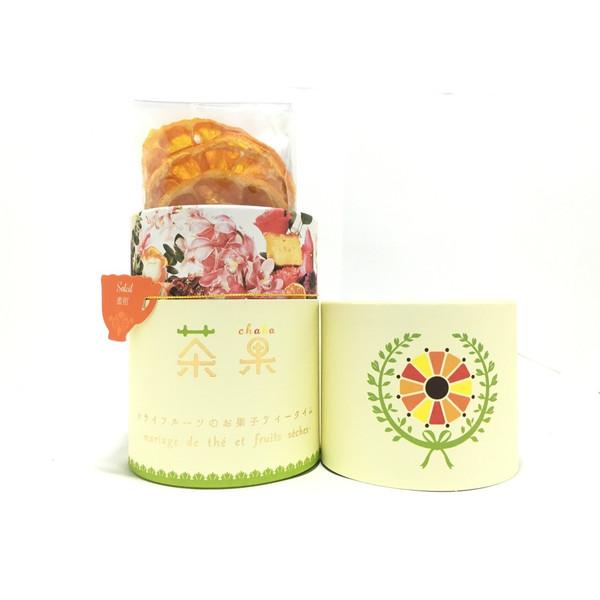 画像1: 「茶果・ソレイユ」紅茶(5パック)とドライみかん(5枚)のセット (1)