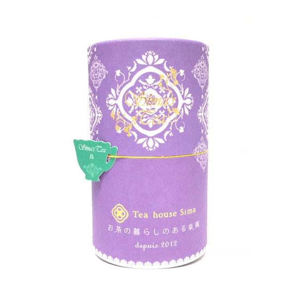 画像1: 「Sima tea 〜島〜」(リーフ15g・茶筒入)ダージリン・緑茶ベース 桃の香り (1)