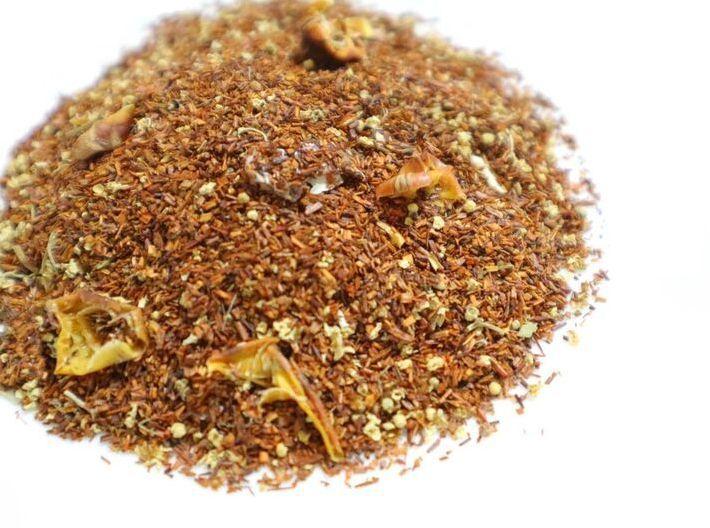 画像: 「茶果・アナナスルイボス」パイン紅茶とドライみかんのセット