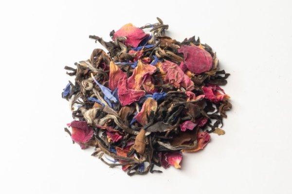 画像1: 上品で大人可愛いストロベリー&ローズ紅茶 アリス 茶筒 ティーバッグ7個入 (1)